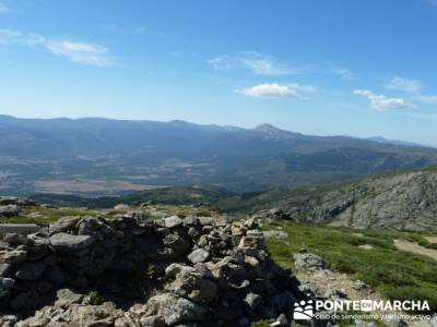 El Pico del Nevero y la Cascada del Chorro - rutas cerca de madrid; senderismo sierra de madrid